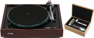 Thorens TD 148 A Walnut Cleaning SET Brown