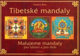 Tibetské mandaly - Blau Tatjana