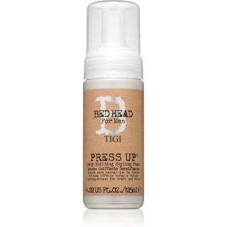 TIGI Bed Head B for Men Press Up stylingová krémová pěna silné zpevnění 125 ml pánské 125 ml