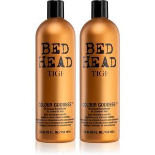 TIGI Bed Head Colour Goddess výhodné balení XII.  pro ženy dámské 2 ks