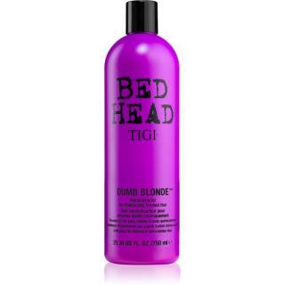 TIGI Bed Head Dumb Blonde kondicionér pro chemicky ošetřené vlasy 750 ml dámské 750 ml