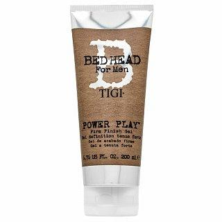 Tigi Bed Head For Men Power Play Firm Finish Gel gel na vlasy pro střední fixaci 200 ml
