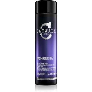 TIGI Catwalk Fashionista fialový kondicionér pro blond a melírované vlasy 250 ml dámské 250 ml