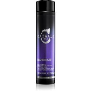 TIGI Catwalk Fashionista fialový šampon pro blond a melírované vlasy 300 ml dámské 300 ml