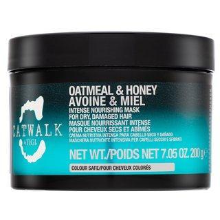 Tigi Catwalk Oatmeal & Honey Intense Nourishing Mask vyživující maska pro hydrataci vlasů 200 ml