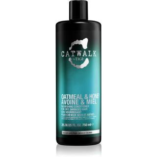 TIGI Catwalk Oatmeal & Honey vyživující kondicionér pro suché a poškozené vlasy 750 ml dámské 750 ml