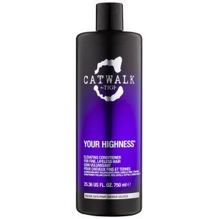 TIGI Catwalk Your Highness kondicionér pro objem 750 ml dámské 750 ml