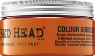 Tigi Obnovující maska na barvené vlasy Bed Head Colour Goddess  200 g dámské