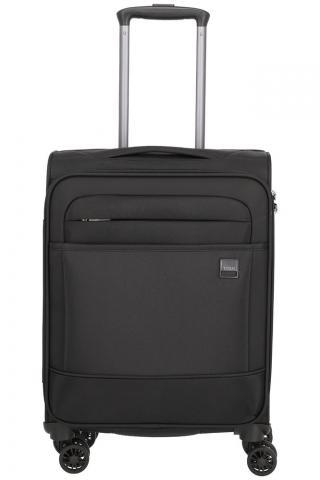 Titan Kabinový cestovní kufr Calexx 4w S Black 33 l černá
