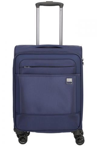 Titan Kabinový cestovní kufr Calexx 4w S Navy 33 l modrá