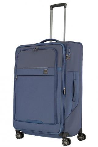 Titan Látkový cestovní kufr Prime 4w L Navy 91/105 l modrá