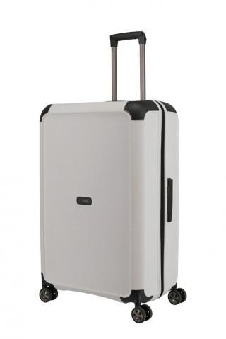 Titan Skořepinový cestovní kufr Compax 4w L White 104 l bílá
