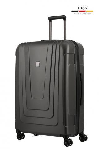 Titan Skořepinový cestovní kufr X-ray Pro L Atomic Steel 102 l