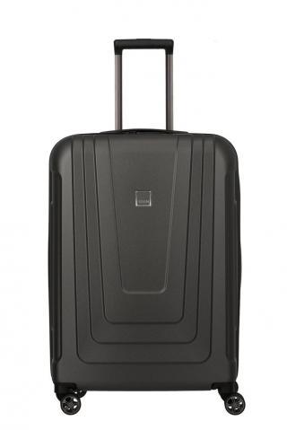 Titan Skořepinový cestovní kufr X-ray Pro M  Atomic Steel 87 l černá