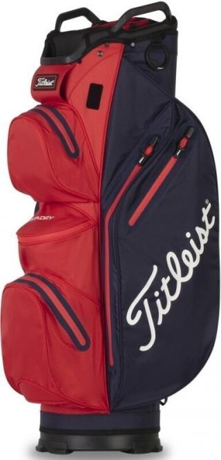 Titleist Cart 14 StaDry Cart Bag Navy/Red