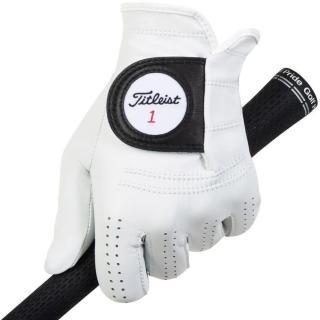 Titleist Players Mens Golf Glove 2020 Left Hand for Right Handed Golfers White ML pánské ML