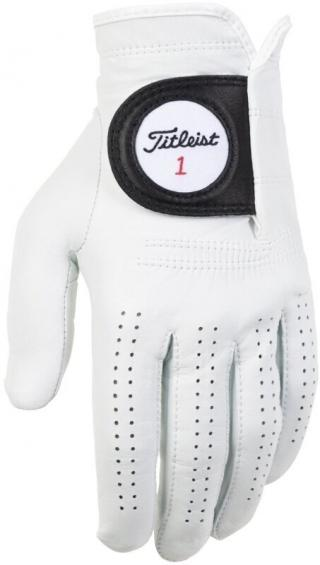 Titleist Players Mens Golf Glove Left Hand for Right Handed Golfer Cadet White ML