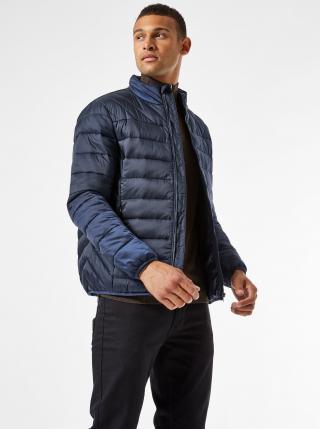 Tmavě modrá prošívaná bunda Burton Menswear London pánské M