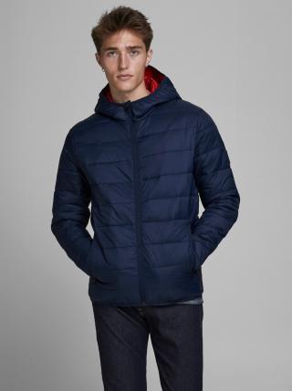 Tmavě modrá prošívaná bunda Jack & Jones Emagic pánské L