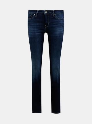 Tmavě modré dámské straight fit džíny Pepe Jeans Piccadilly dámské tmavě modrá S