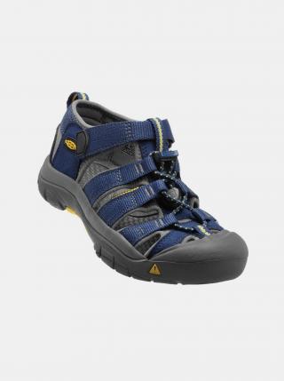 Tmavě modré dětské sandály Keen tmavě modrá 24