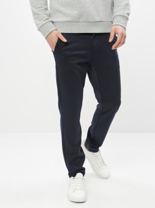 Tmavě modré kalhoty ONLY & SONS Mark pánské tmavě modrá XS