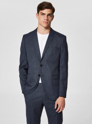 Tmavě modré oblekové sako Selected Homme pánské tmavě modrá XXS