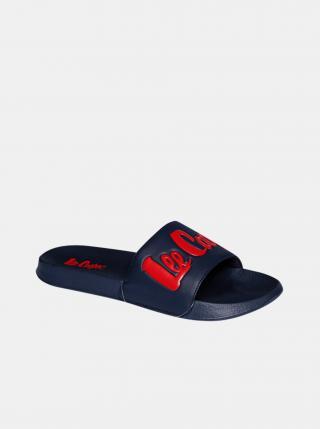 Tmavě modré pánské pantofle Lee Cooper pánské tmavě modrá 40