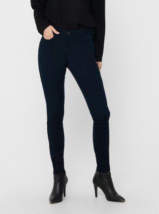Tmavě modré skinny fit kalhoty Jacqueline de Yong dámské tmavě modrá L