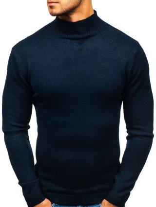 Tmavě modrý pánský svetr Bolf H1801 M