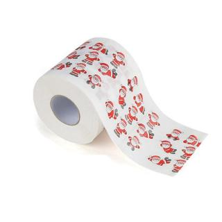Toaletní papír s vánočním motivem Varianta: 1