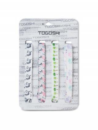 Togoshi Set tkaniček do bot TG-LACES-120-4 Bílá dámské 00