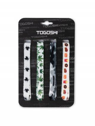 Togoshi Set tkaniček do bot TG-LACES-120-4-MEN-007 Barevná 00