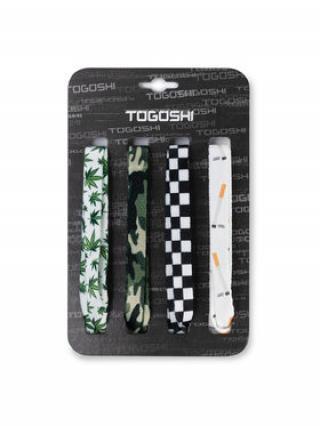 Togoshi Set tkaniček do bot TG-LACES-120-4-MEN-008 Zelená 00