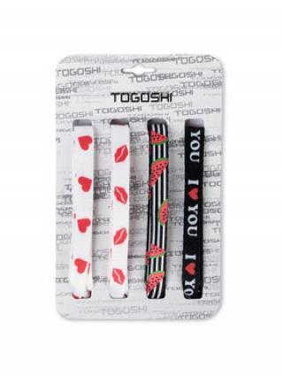 Togoshi Set tkaniček do bot TG-LACES-120-4-WOMEN-006 Barevná 00
