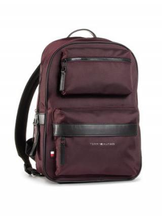 Tommy Hilfiger Batoh Elevated Nylon Utility Backpack AM0AM06470 Bordó 00