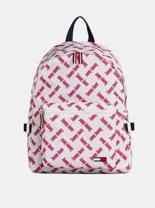 Tommy Hilfiger bílý batoh s nápisy dámské bílá
