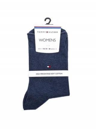 Tommy Hilfiger Dámské klasické ponožky 443029001 Modrá 39_42
