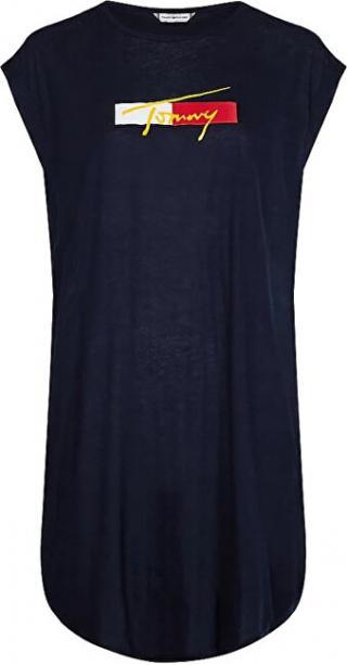Tommy Hilfiger Dámské šaty UW0UW02949-DW5 L dámské