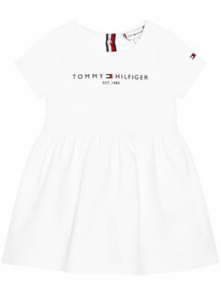 Tommy Hilfiger Každodenní šaty Baby Essential KN0KN01304 Bílá Regular Fit dámské 92