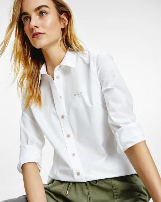 Tommy Hilfiger Košile Bílá dámské 38