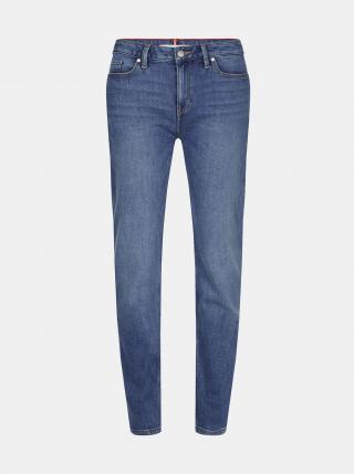 Tommy Hilfiger modré džíny Straight Fit - XS dámské modrá XS