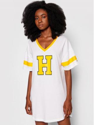 Tommy Hilfiger Noční košile Varsity UW0UW02894 Bílá dámské XS