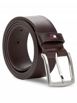 TOMMY HILFIGER Pánský pásek New Denton Belt 4.0 E367863162 Hnědá 110