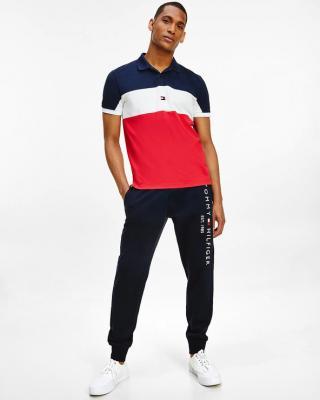 Tommy Hilfiger Polo triko Červená pánské L