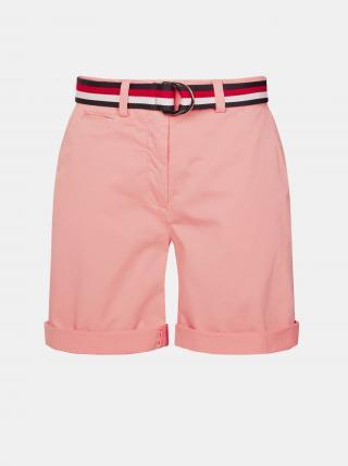 Tommy Hilfiger růžové kraťasy - S dámské růžová S