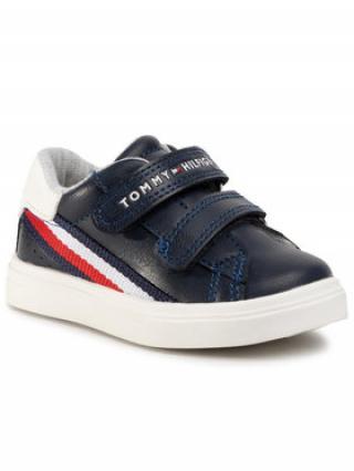 TOMMY HILFIGER Sneakersy Low Cut Velcro Sneaker T1B4-30699-0621 Tmavomodrá pánské 21
