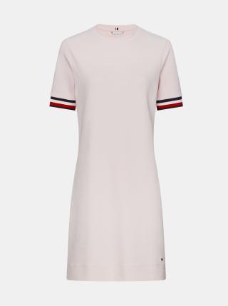 Tommy Hilfiger světle růžové letní šaty - XS dámské růžová XS