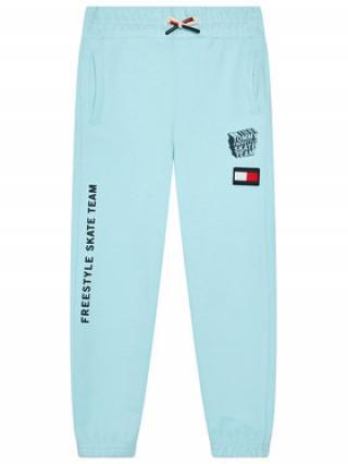 Tommy Hilfiger Teplákové kalhoty Graphic KB0KB06584 M Modrá Regular Fit pánské 4Y