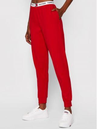 Tommy Hilfiger Teplákové kalhoty UW0UW02274 Červená Relaxed Fit dámské XS